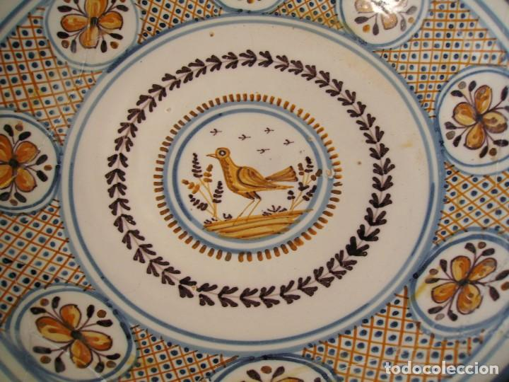 Antigüedades: GRAN PLATO CERÁMICA DE TALAVERA XIX - Foto 8 - 171627850