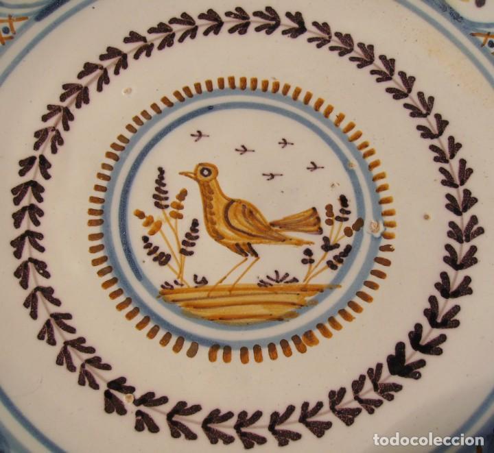 Antigüedades: GRAN PLATO CERÁMICA DE TALAVERA XIX - Foto 10 - 171627850
