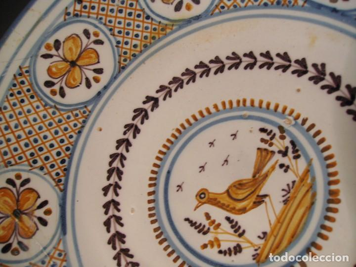 Antigüedades: GRAN PLATO CERÁMICA DE TALAVERA XIX - Foto 11 - 171627850