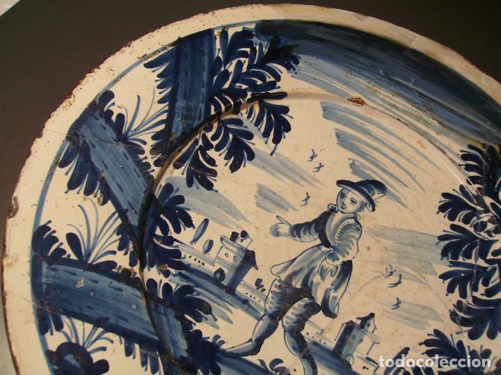 Antigüedades: ROTUNDO Y GRAN PLATO DE CERÁMICA CATALANA XVIII - Foto 5 - 171627918