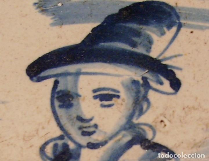 Antigüedades: ROTUNDO Y GRAN PLATO DE CERÁMICA CATALANA XVIII - Foto 15 - 171627918
