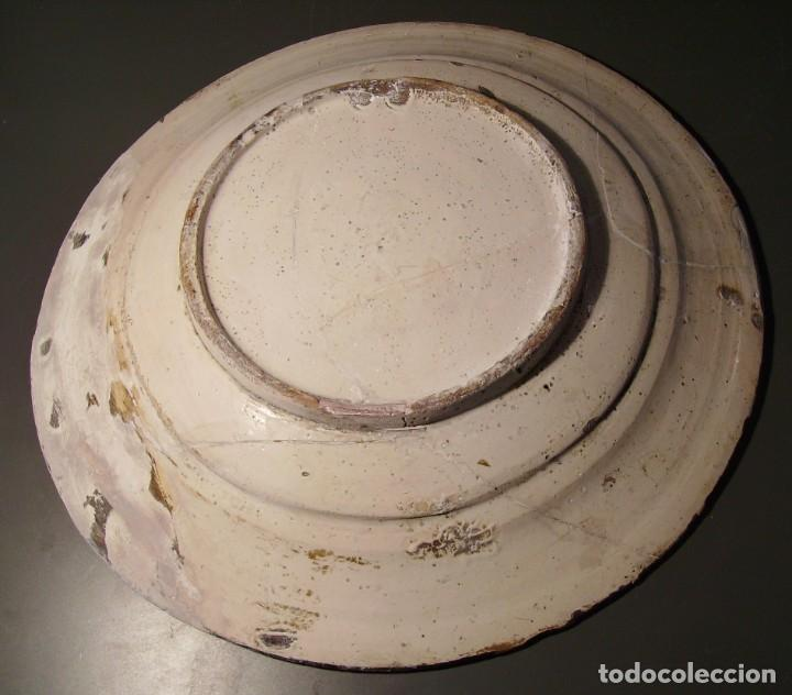 Antigüedades: ROTUNDO Y GRAN PLATO DE CERÁMICA CATALANA XVIII - Foto 21 - 171627918