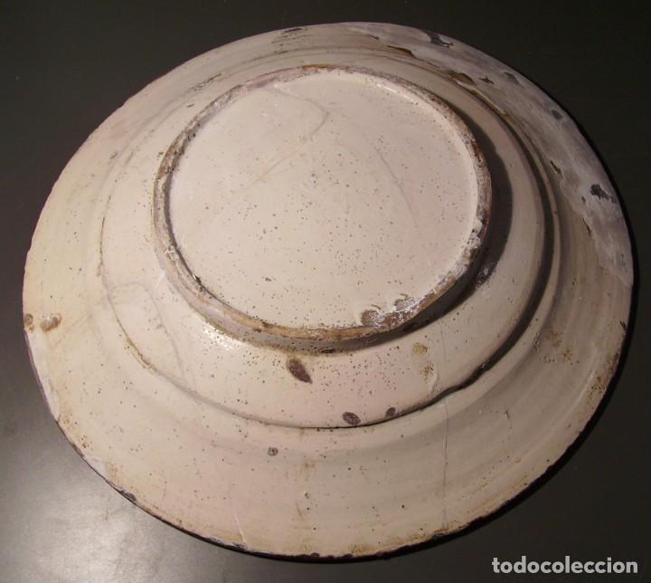Antigüedades: ROTUNDO Y GRAN PLATO DE CERÁMICA CATALANA XVIII - Foto 22 - 171627918