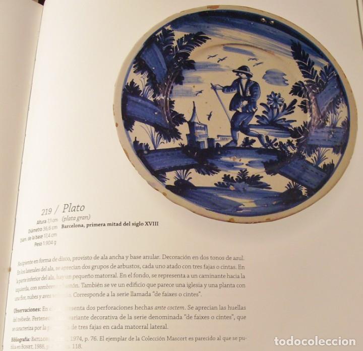 Antigüedades: ROTUNDO Y GRAN PLATO DE CERÁMICA CATALANA XVIII - Foto 25 - 171627918