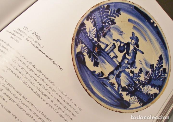 Antigüedades: ROTUNDO Y GRAN PLATO DE CERÁMICA CATALANA XVIII - Foto 29 - 171627918