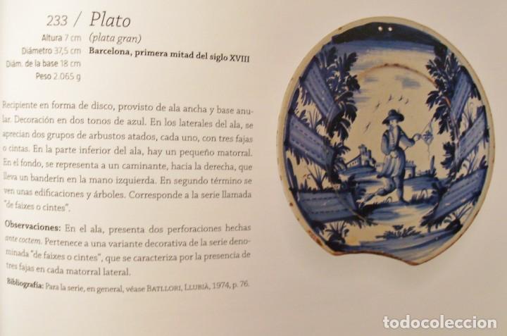 Antigüedades: ROTUNDO Y GRAN PLATO DE CERÁMICA CATALANA XVIII - Foto 30 - 171627918