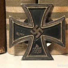 Antigüedades: MEDALLA CRUZ DE HIERRO 1ªCLASE 1939 L58 TERCER REICH ADOLF HITLER FUHRER NAZI EK1 EK2. Lote 194339233