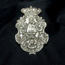Antigüedades: MEDALLON PLATA PATRON DE MADRID. VIRGEN ALMUDENA,SAN ISIDRO. MARIA DE CABEZA. PALOMA, MEDALLA. Lote 171650419