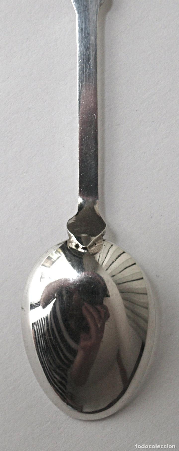 Antigüedades: CUCHARA CUCHARILLA BRUNNEN DE PLATA DE LEY 800 CONTRASTADA. 10 CM LARGO. 9,5 GRAMOS. VER FOTOS Y MAS - Foto 7 - 171650472