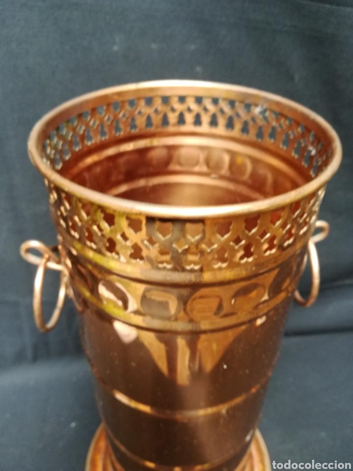 Antigüedades: Paragüero de cobre - Foto 2 - 171650923