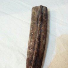 Antigüedades: ANTIGUA FUNDA DE CUCHILLO PIEL CUERO. Lote 171654012