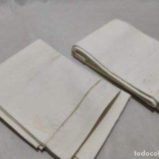 Antigüedades: TEJIDO DE LINO ANTIGUO. Lote 171659899