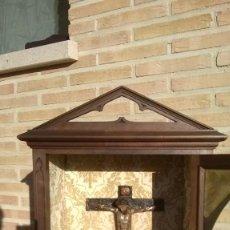 Antigüedades: CRISTO ROMÁNICO SIGLO XVI. Lote 171687567