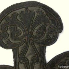 Antigüedades: ANTIGUA CAPELINA - CUELLO DE LANA Y SEDA S. XIX. Lote 171687572