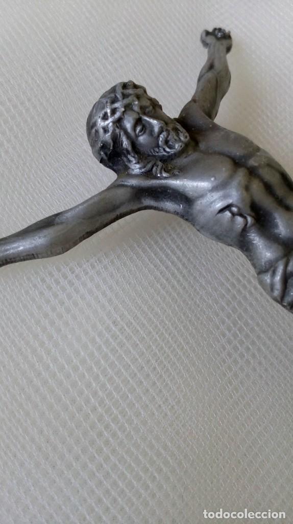 Antigüedades: Preciosa chapita de Cristo - Foto 4 - 171701303