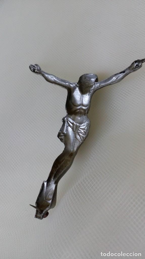Antigüedades: Preciosa chapita de Cristo - Foto 6 - 171701303