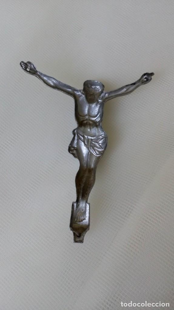 Antigüedades: Preciosa chapita de Cristo - Foto 7 - 171701303