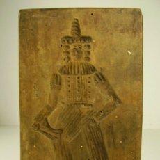 Antigüedades: MOLDE DE MADERA. 1800. Lote 171701765