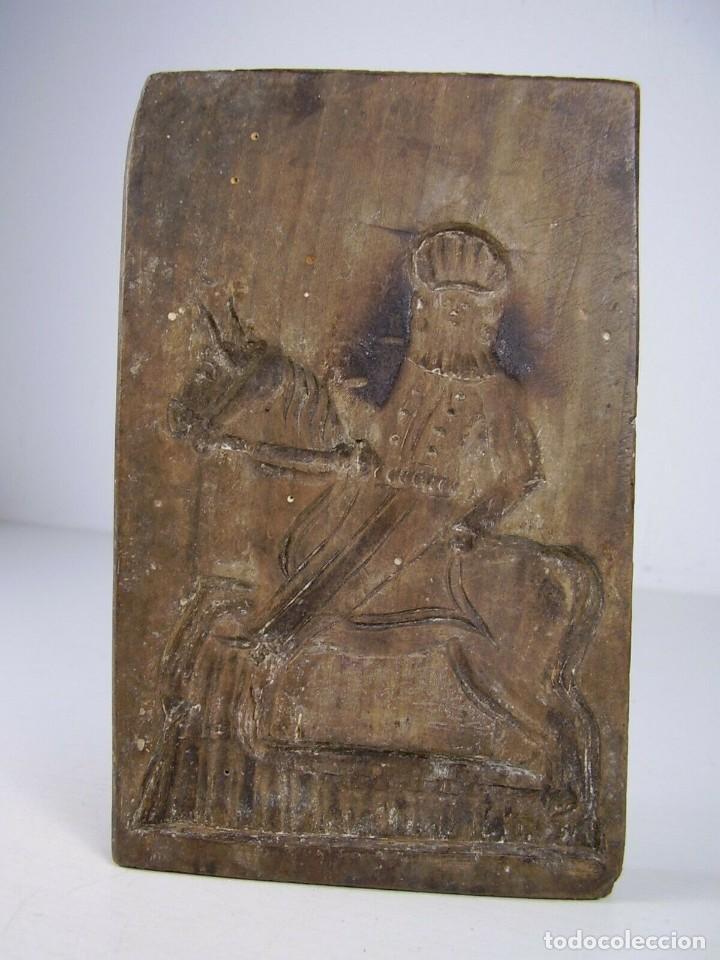Antigüedades: Molde de madera. 1800 - Foto 2 - 171701765