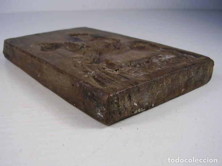 Antigüedades: Molde de madera. 1800 - Foto 3 - 171701765