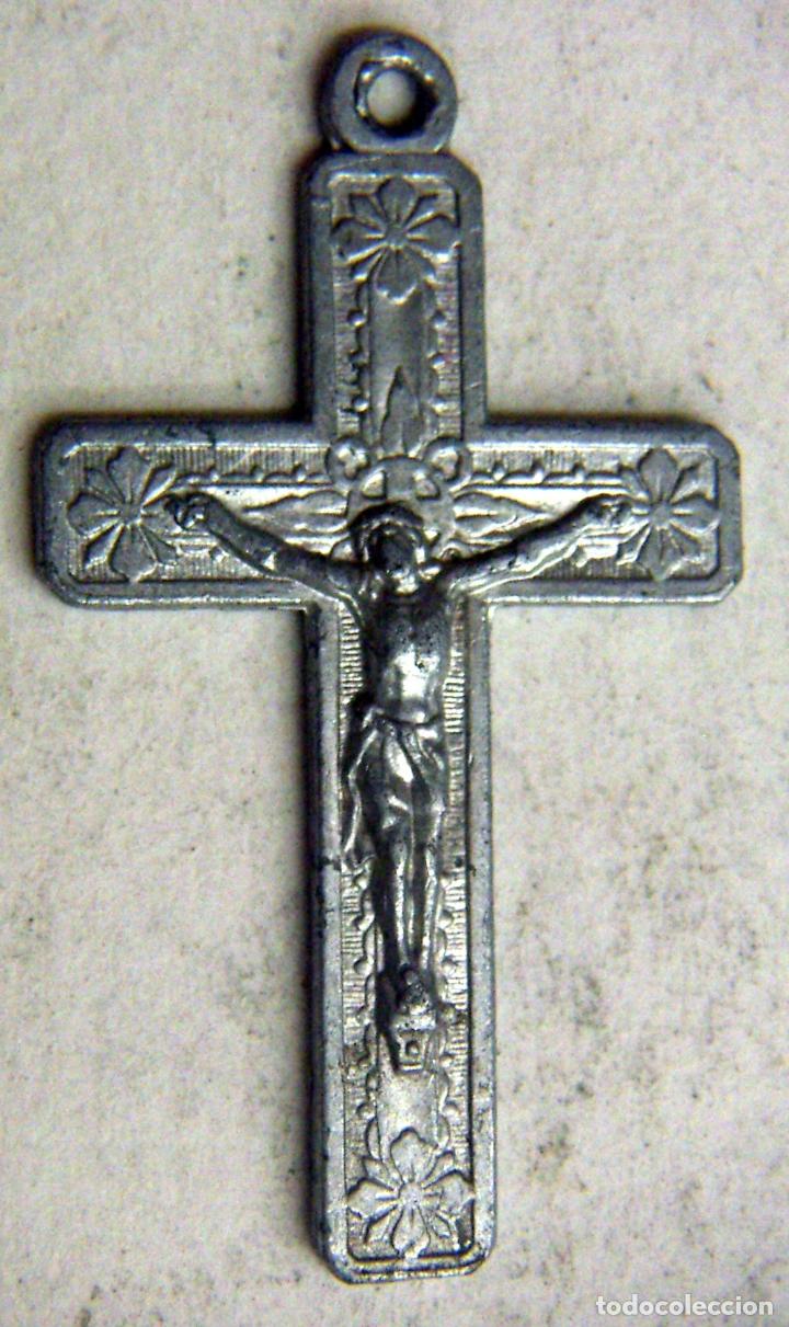 VIEJO CRUCIFIJO (Antigüedades - Religiosas - Crucifijos Antiguos)
