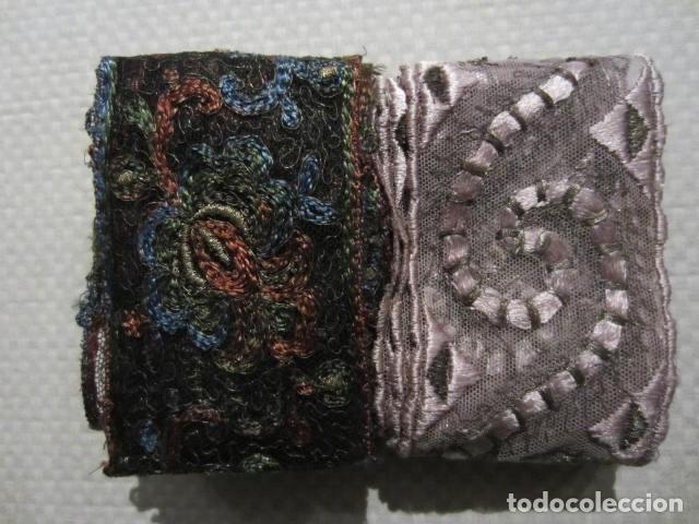 ENCAJE - ENTREDÓS - BORDADO - TUL - SEDA + INFO - VER FOTOS + INFO. (Antigüedades - Moda - Encajes)