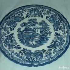 Antigüedades: BELLO GRAN PLATO PORCELANA INGLESA CHURCHILL THE GEORGIAN COLLECTION 30.5CM. Lote 171717609