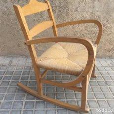 Antiquités: ANTIGUA MECEDORA DE MADERA Y ENEA +++. Lote 245516795