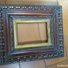 Antigüedades: ANTIGUO MARCO DE MADERA TALLADA. Lote 171747380