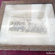 Antigüedades: CUADRO ANTIGUO CON FOTOGRAFIA. Lote 171748019