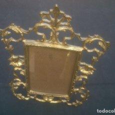 Antigüedades: MARCO DE BRONCE ESTILO ANTIGUO . Lote 171748209