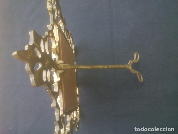 Antigüedades: MARCO DE BRONCE ESTILO ANTIGUO - Foto 2 - 171748305