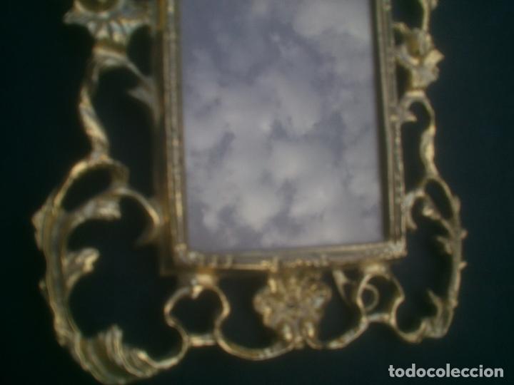 Antigüedades: MARCO DE BRONCE ESTILO ANTIGUO - Foto 3 - 171748305