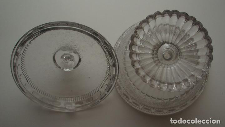 Antigüedades: COMPOTERA. CRISTAL DE SANTA LUCIA. CARTAGENA, MURCIA. - Foto 4 - 171748784