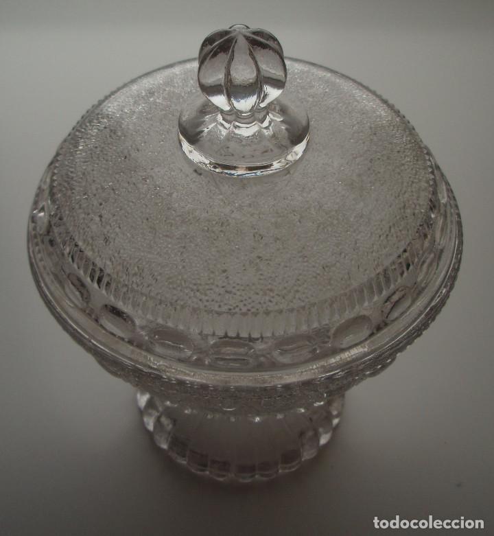 Antigüedades: COMPOTERA. CRISTAL DE SANTA LUCIA. CARTAGENA, MURCIA. - Foto 9 - 171748784