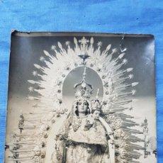 Antigüedades: ANTIGUA FOTO VIRGEN DE LA MISERICORDIA TORREPEROGIL JAEN. Lote 171765200