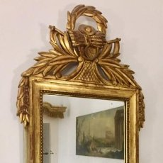 Antigüedades: MADERA DORADA PAN DE ORO EPOCA IMPERIO NAPOLEÓN III C.1890. Lote 171776783