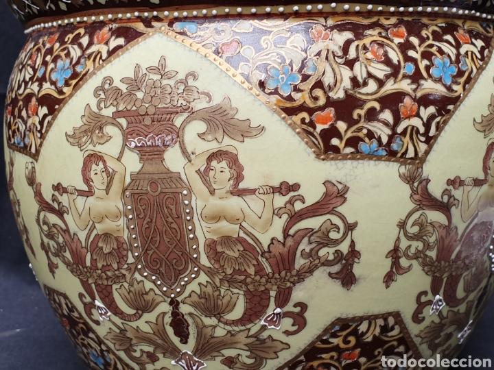 Antigüedades: Macetero porcelana china - Foto 2 - 171780570