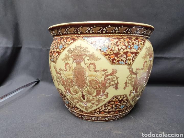 MACETERO PORCELANA CHINA (Antigüedades - Porcelanas y Cerámicas - China)