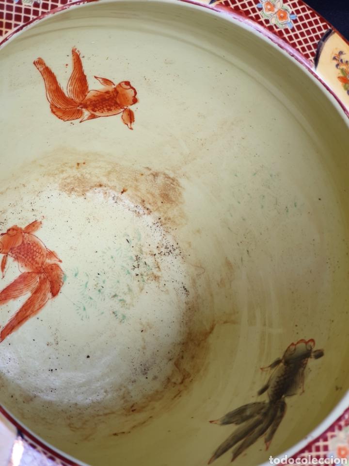 Antigüedades: Macetero porcelana china - Foto 3 - 171780570