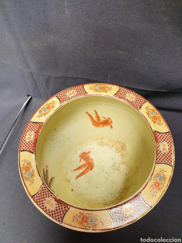 Antigüedades: Macetero porcelana china - Foto 4 - 171780570