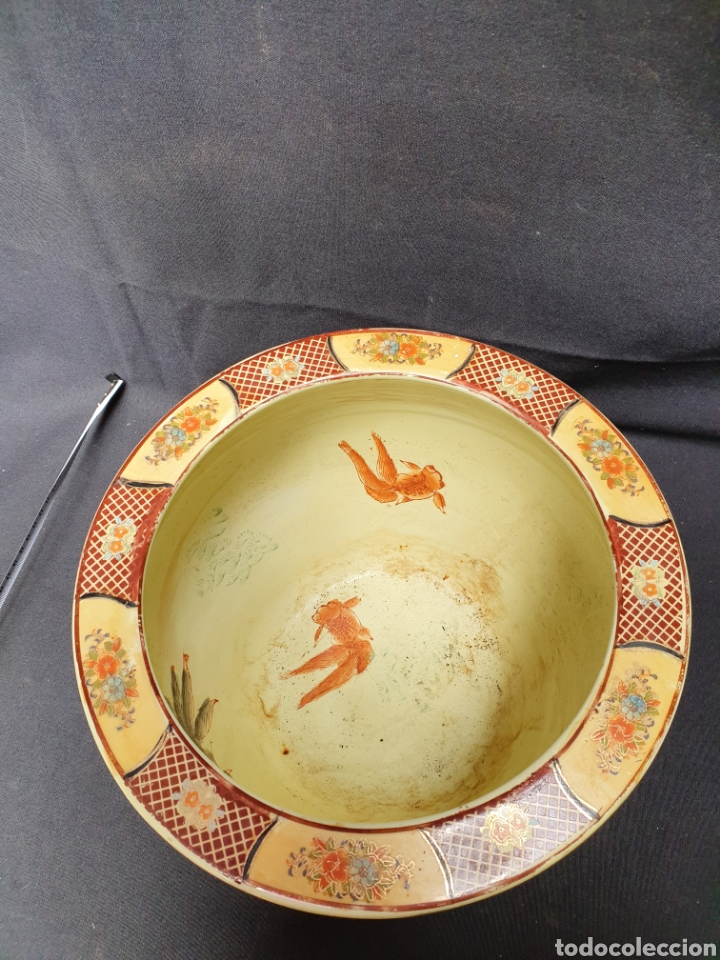 Antigüedades: Macetero porcelana china - Foto 5 - 171780570