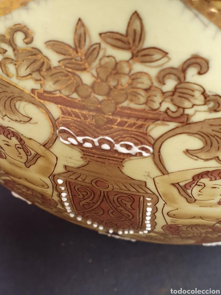 Antigüedades: Macetero porcelana china - Foto 11 - 171780570