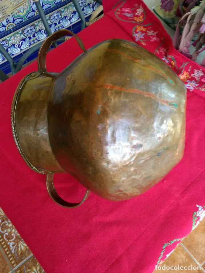 Antigüedades: Jarrón antiguo de cobre - Foto 2 - 171781509