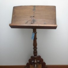 Antigüedades: ATRIL DE PINO. Lote 171781754