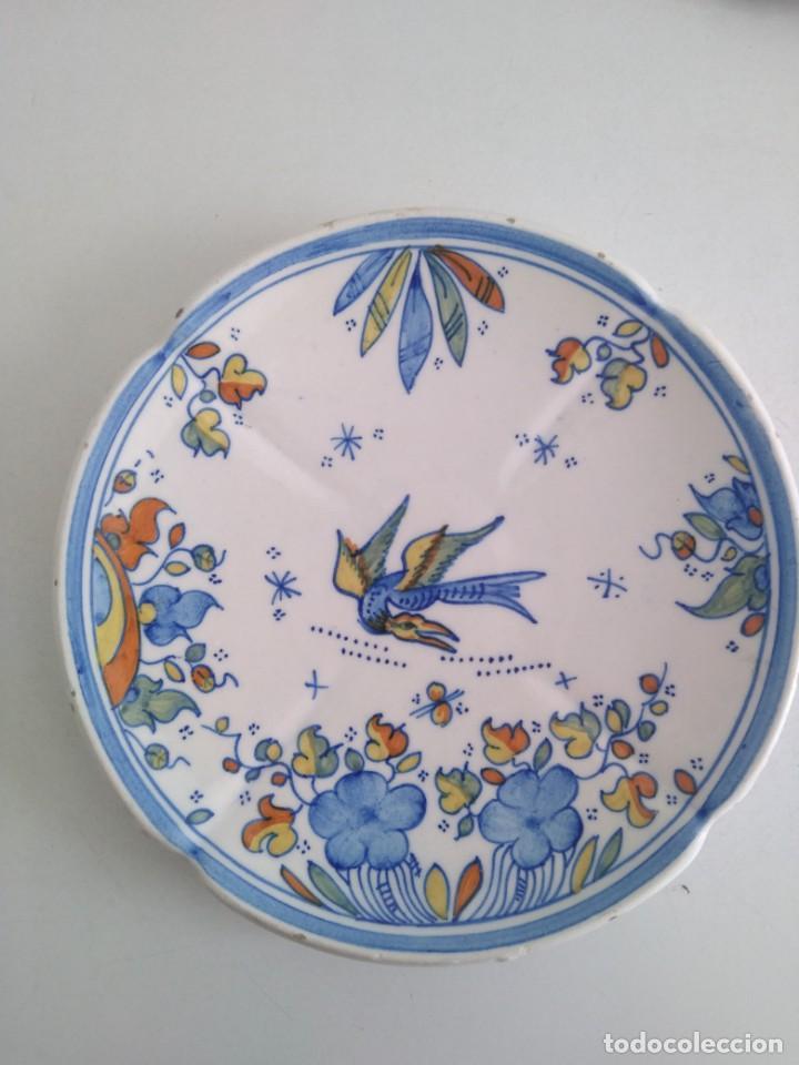 ALCORA-FAITANAR, PRECIOSO PLATO 20 CM DIAMETRO (Antigüedades - Porcelanas y Cerámicas - Alcora)
