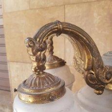 Antigüedades: LÁMPARA , DE LA ÉPOCA ART DECO 1920-1930. Lote 171819395
