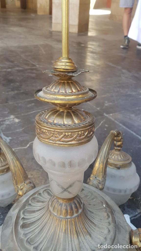 Antigüedades: Lámpara , de la época Art Deco 1920-1930 Alemana - Foto 6 - 171819395
