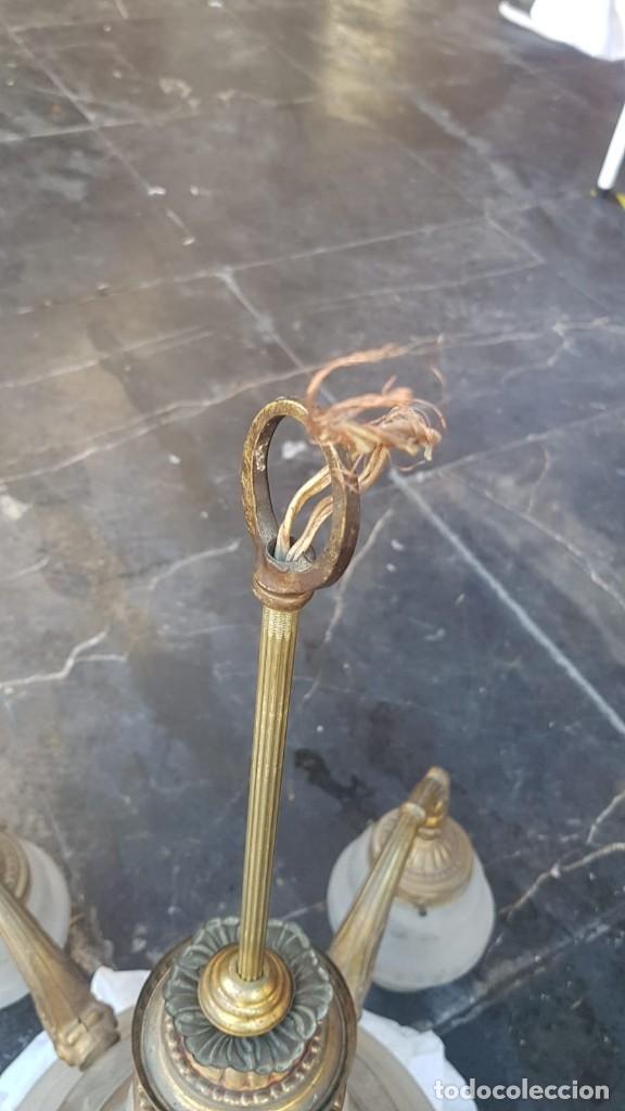 Antigüedades: Lámpara , de la época Art Deco 1920-1930 Alemana - Foto 7 - 171819395