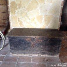 Antigüedades: ANTIGUO BAÚL - ARCÓN DE MADERA. Lote 171833150